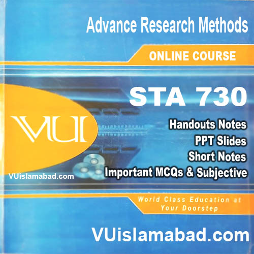 STA730Advance Research Methods