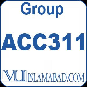 ACC311 – Fundamentals of Auditing